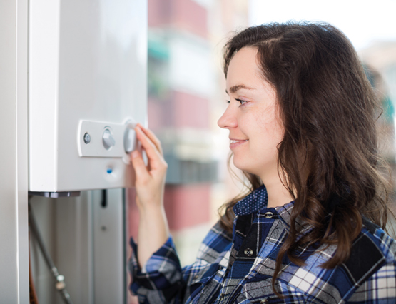 First Time Central Heating Systems