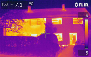 Thermal Imaging of Insulated Properties