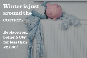 Get a new A-rated boiler for less than £2000 with Better Homes Yorkshire